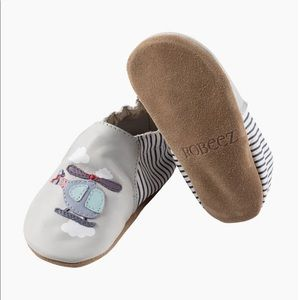 New! Robeez Helicopter Soft Soles